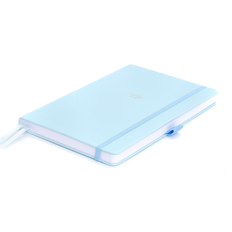 Minte Dotted Notebook - Light Blue