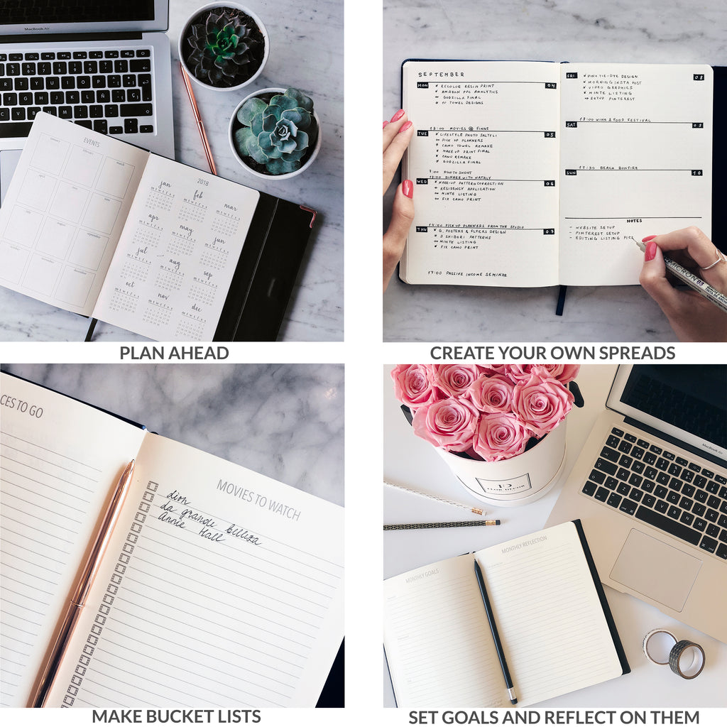Minte Journal - timeless black
