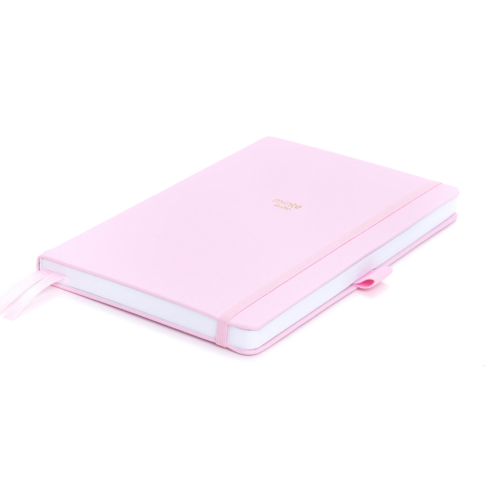 Minte Dotted Notebook - Light Pink