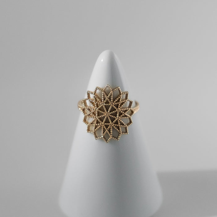 Lace Deco Ring - VI