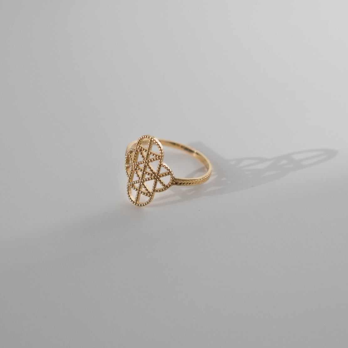 Lace Deco Ring - VII
