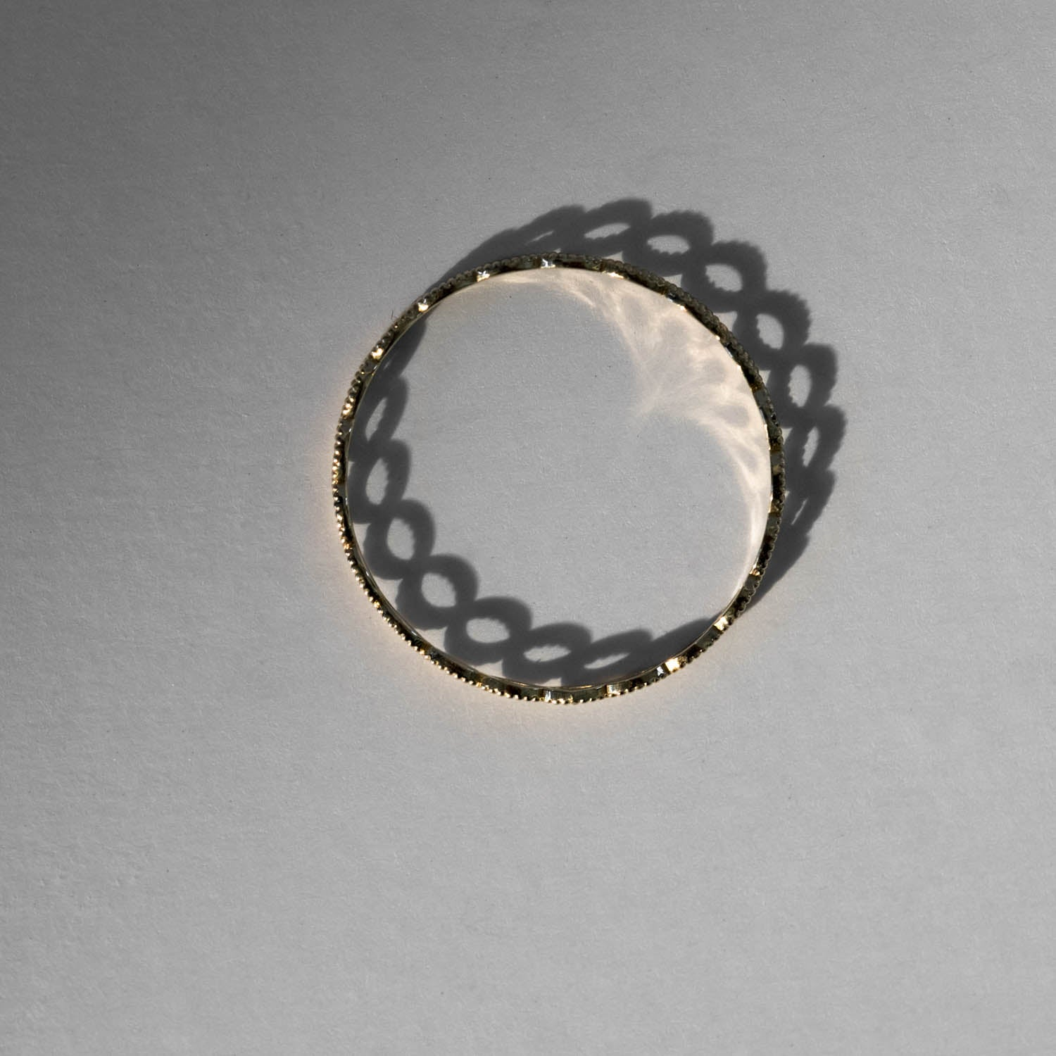 Beaded Marquise Eternity Ring