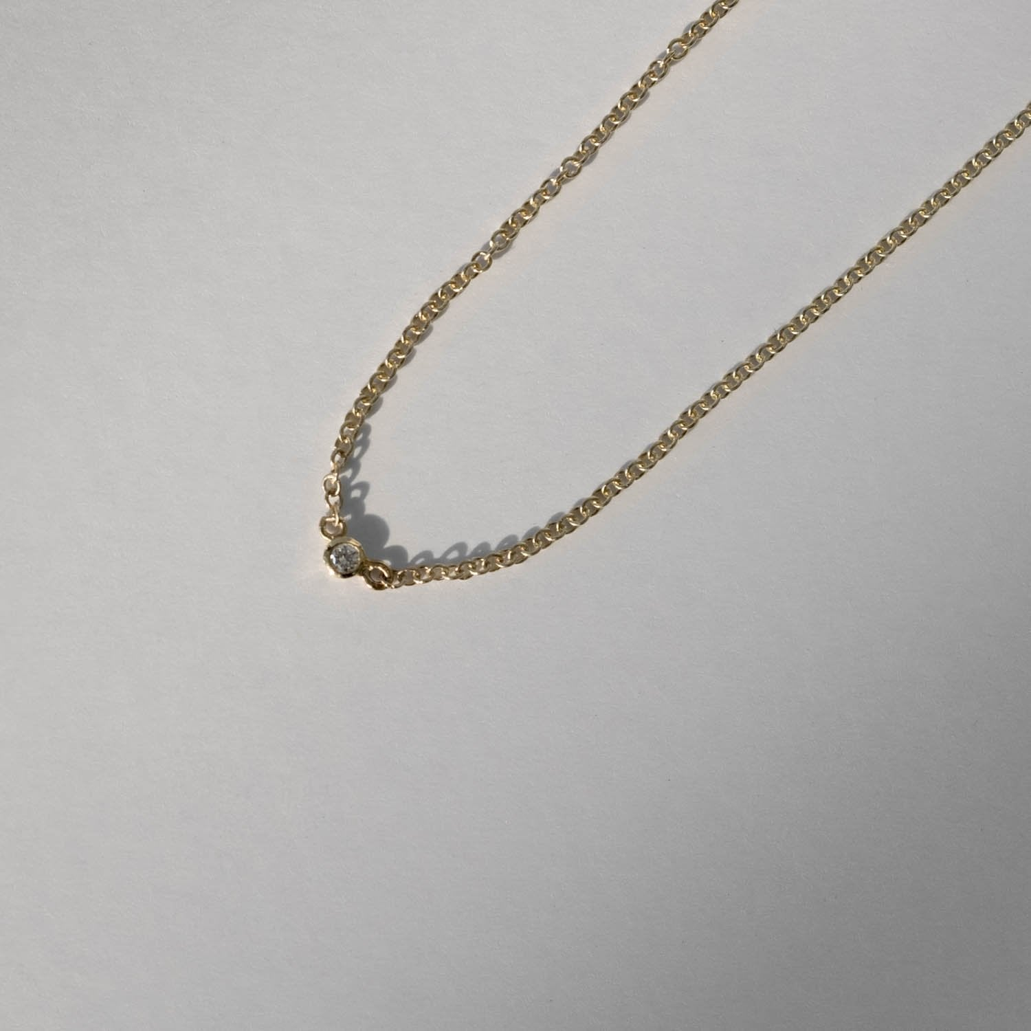 Diamond Dot Necklace