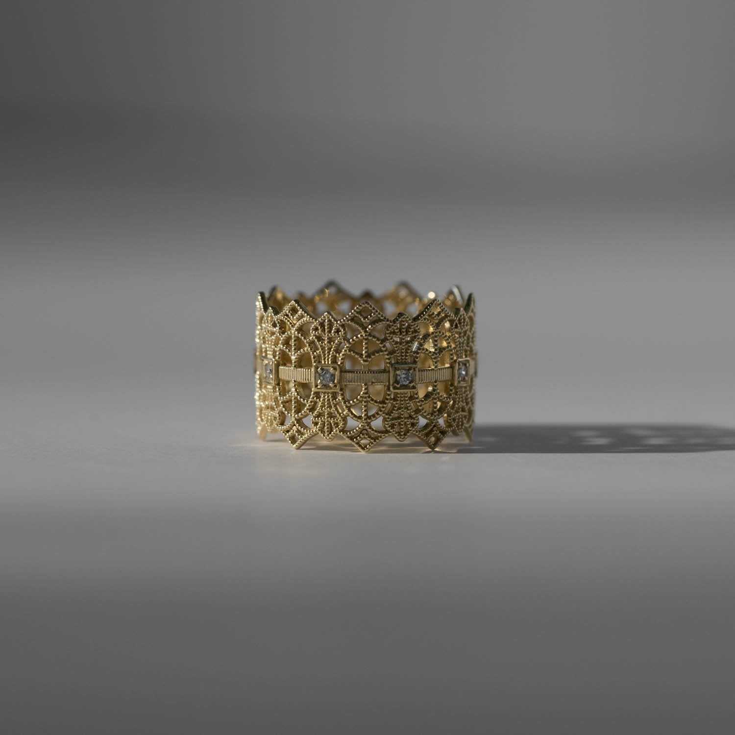Lace Crown Ring - RTS