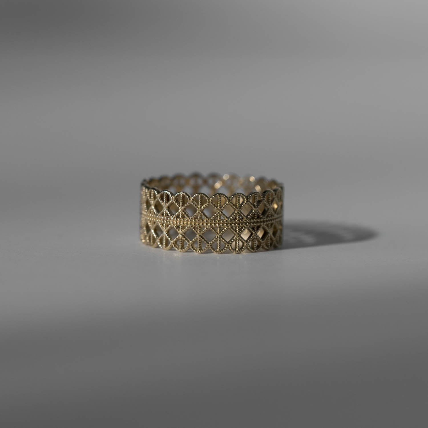 Lace Grid Ring