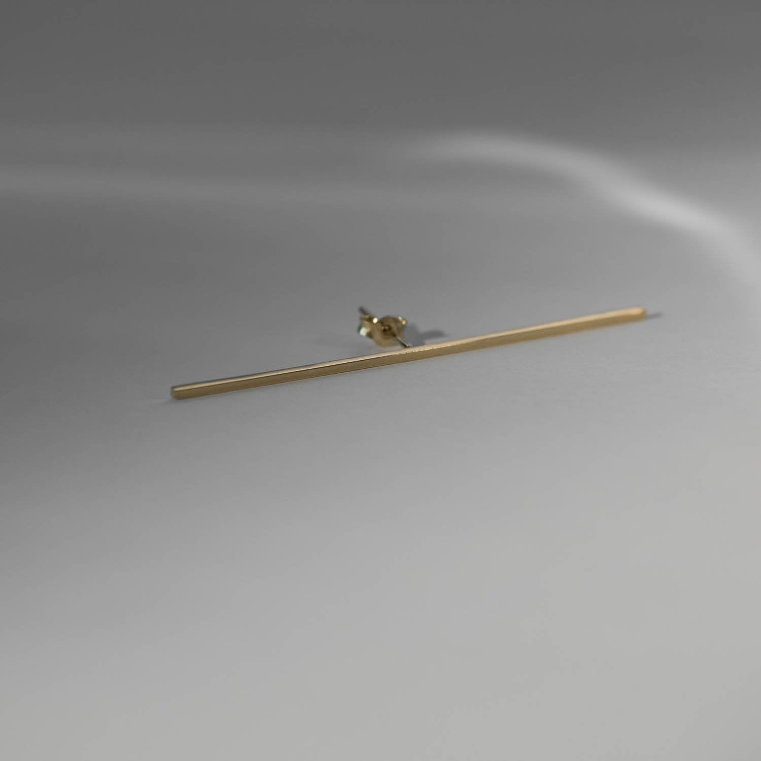Elongated Linear Earring