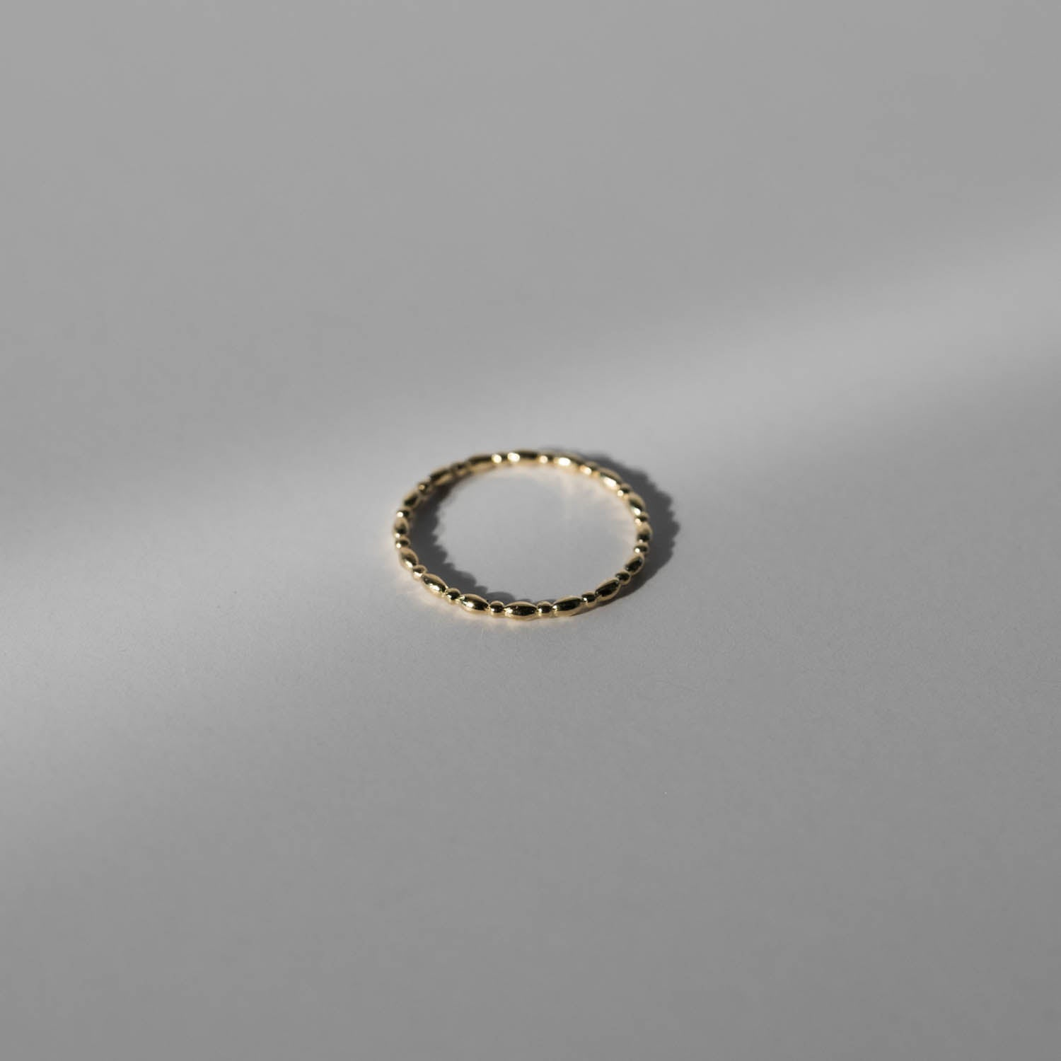 Oval-Beaded Ring - RTS