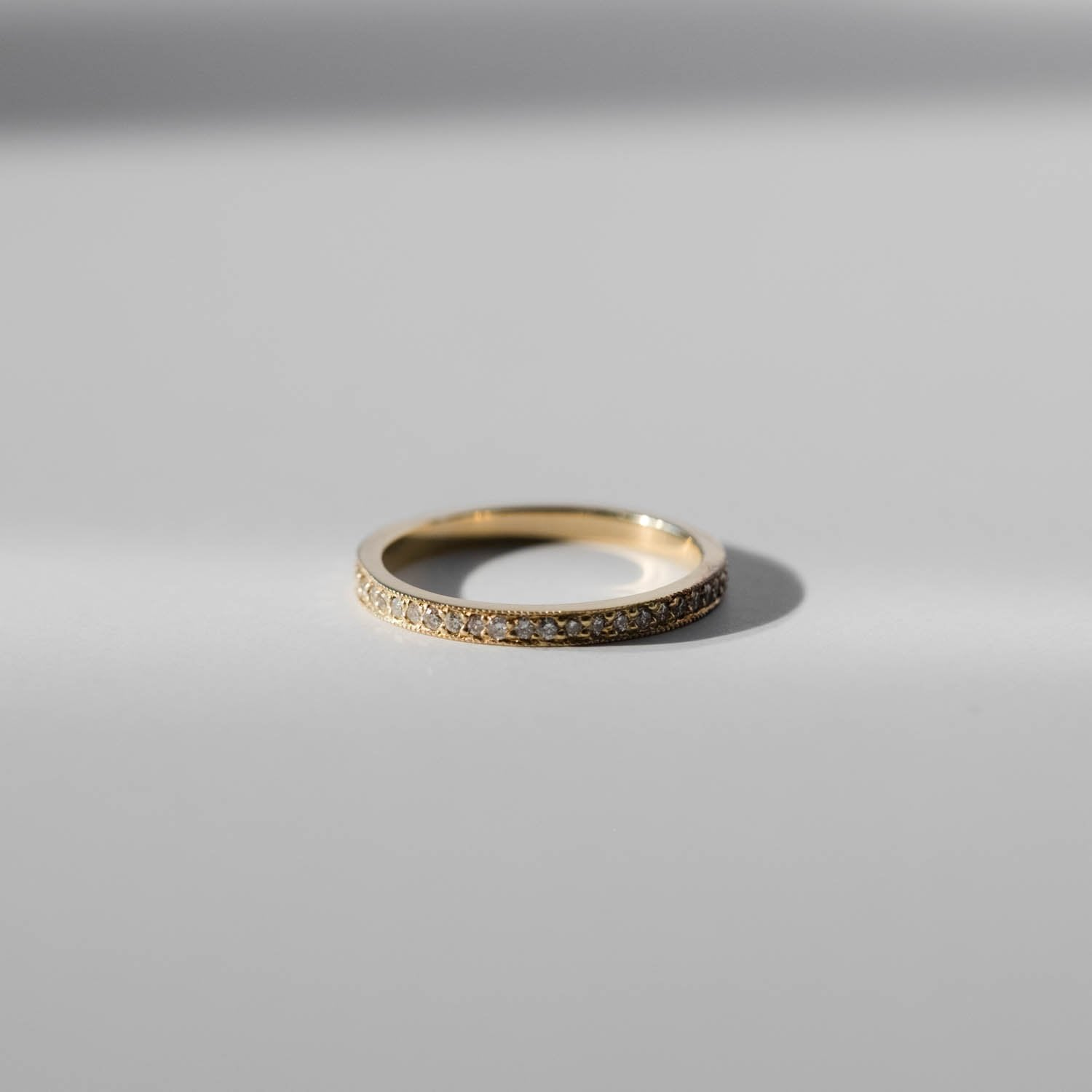 Pavé Eternity Diamond Ring