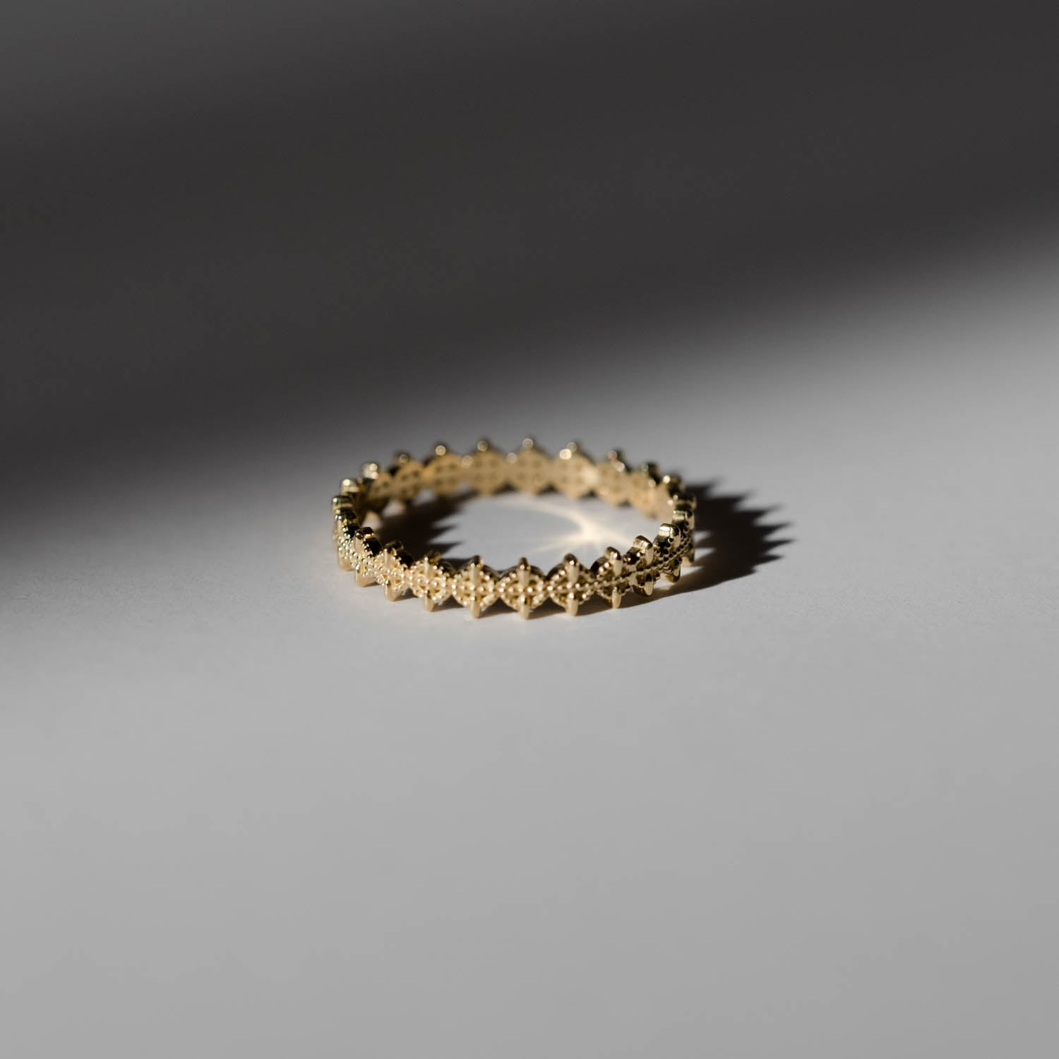 Symm-Beaded Ring