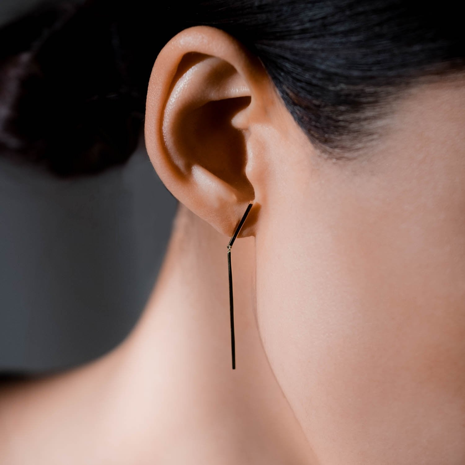Petite Jointed Linear Earring