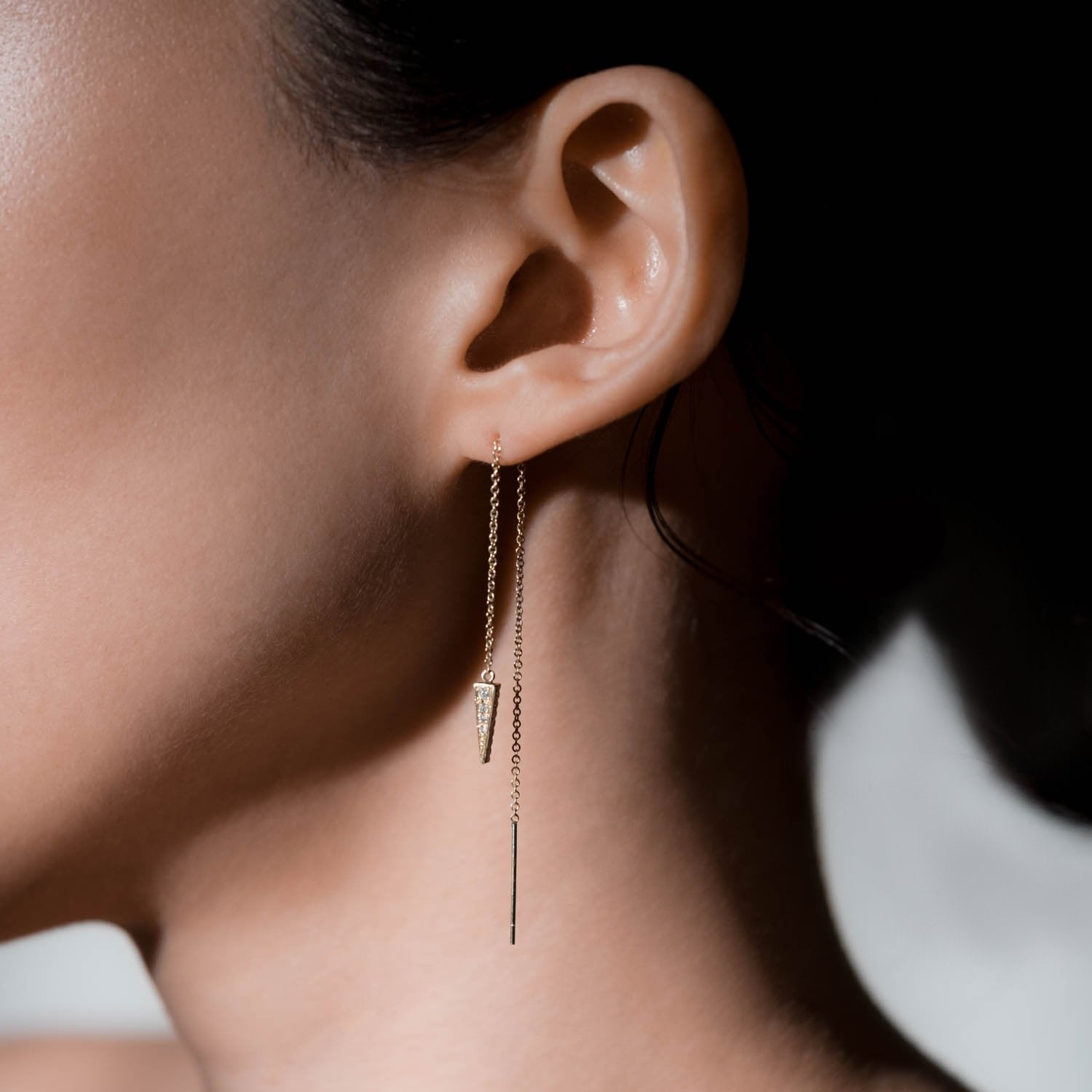 Triangle Flip Earring
