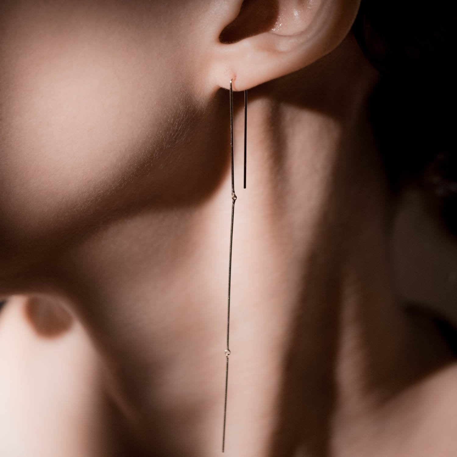 Whisper Mobile Linear Earrings