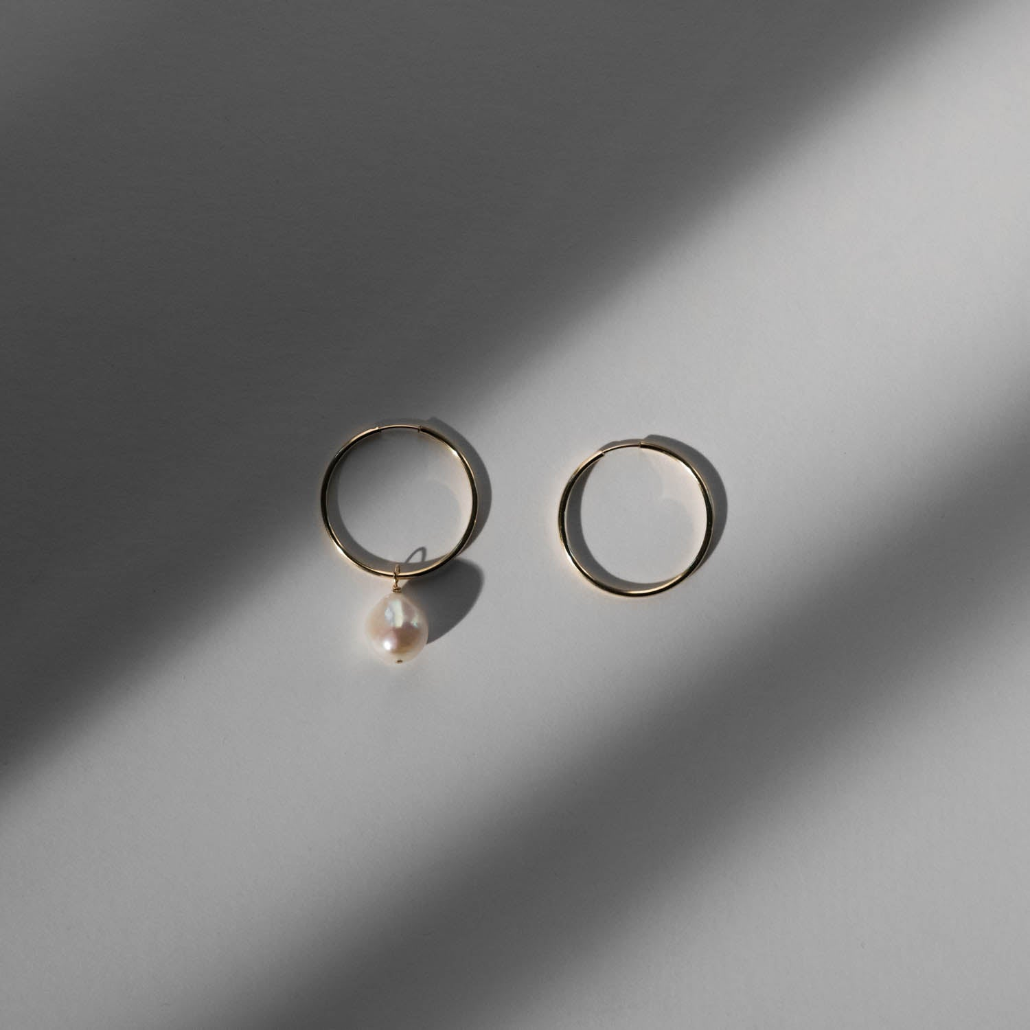 Hoop Earrings - 0.75""