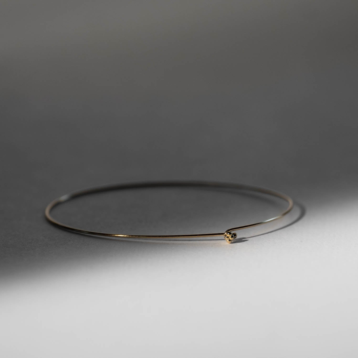 Crown Dot Whisper Bangle