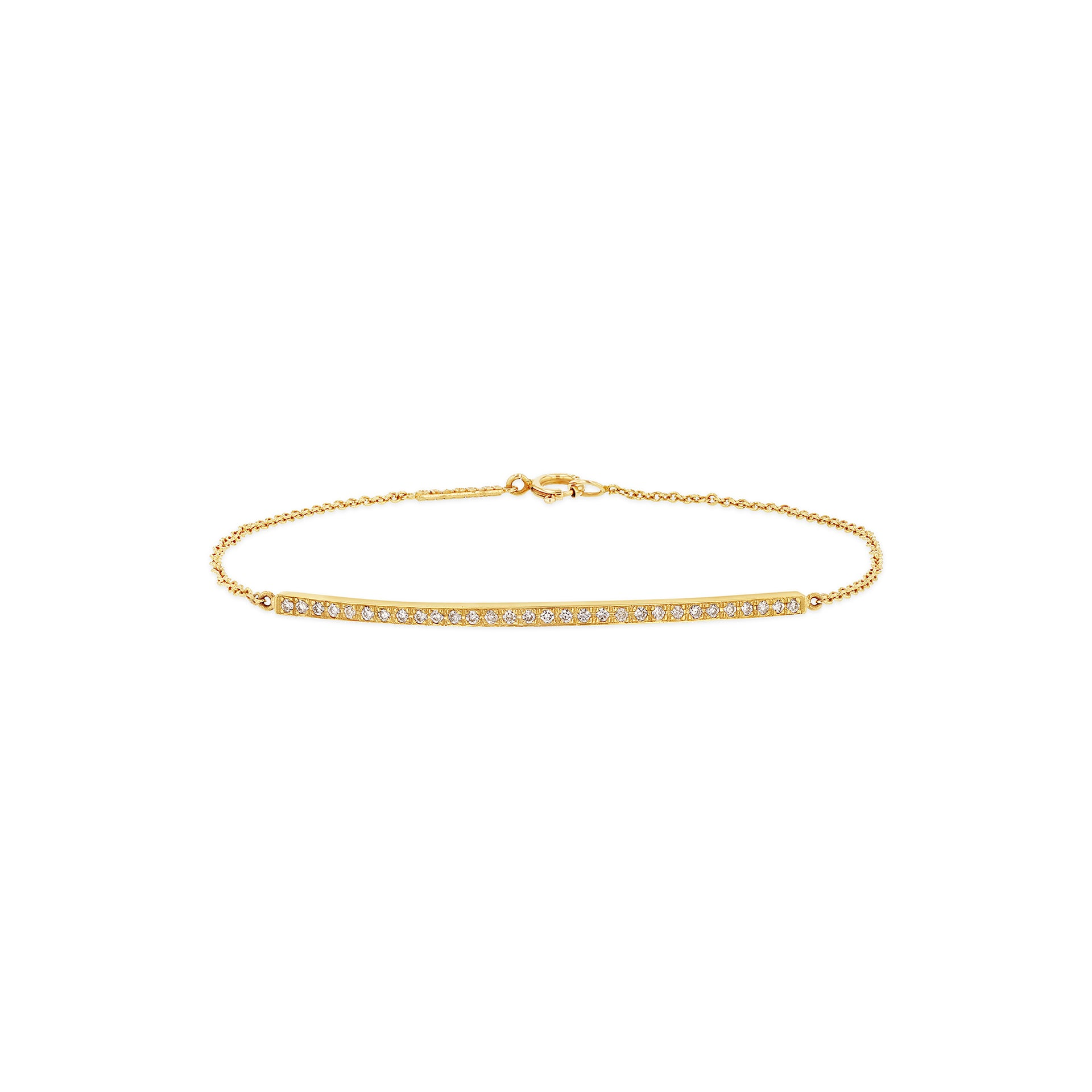 Bar Bracelet w Diamonds