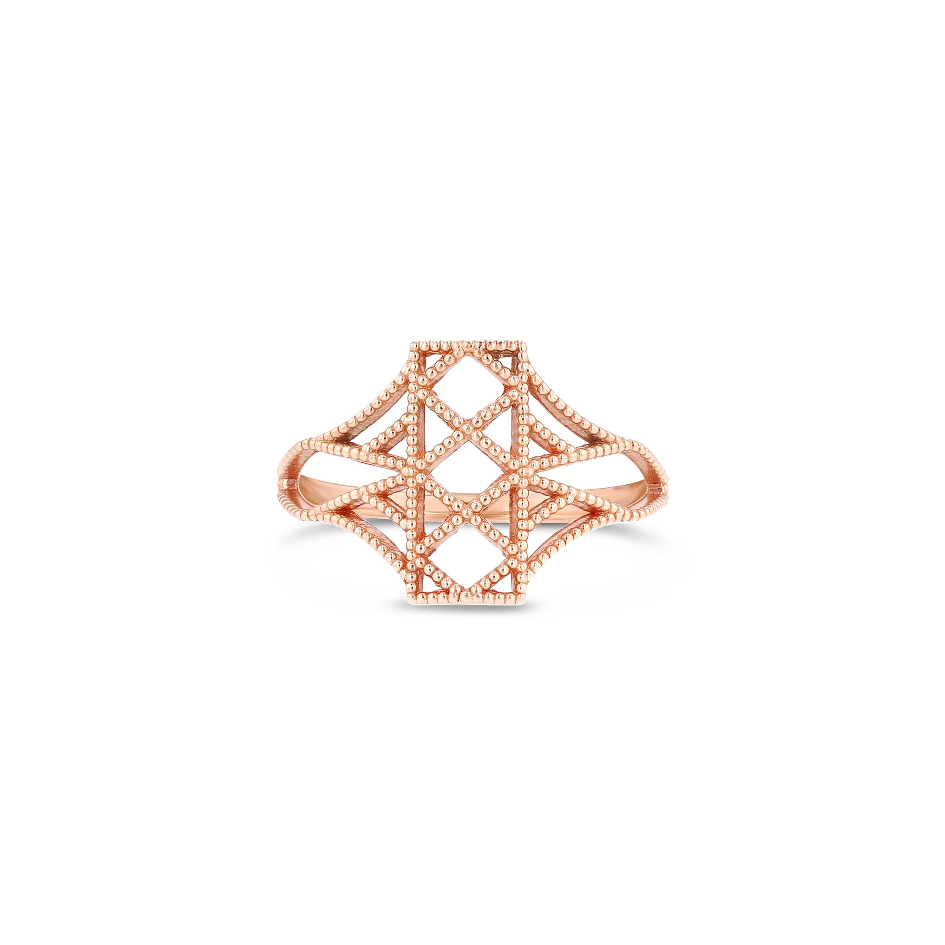 Lace Deco Ring - IX