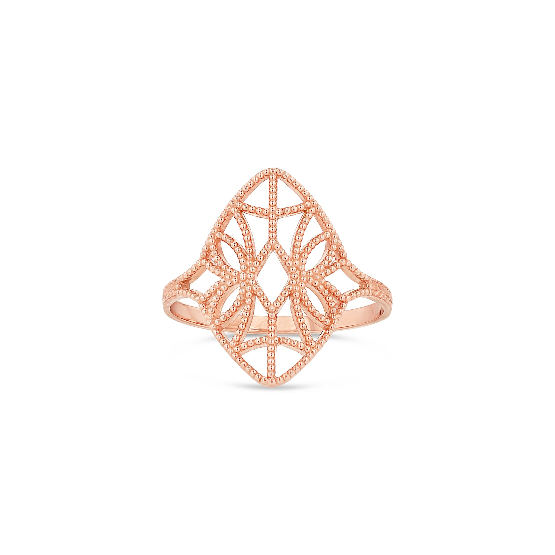 Lace Deco Ring - X