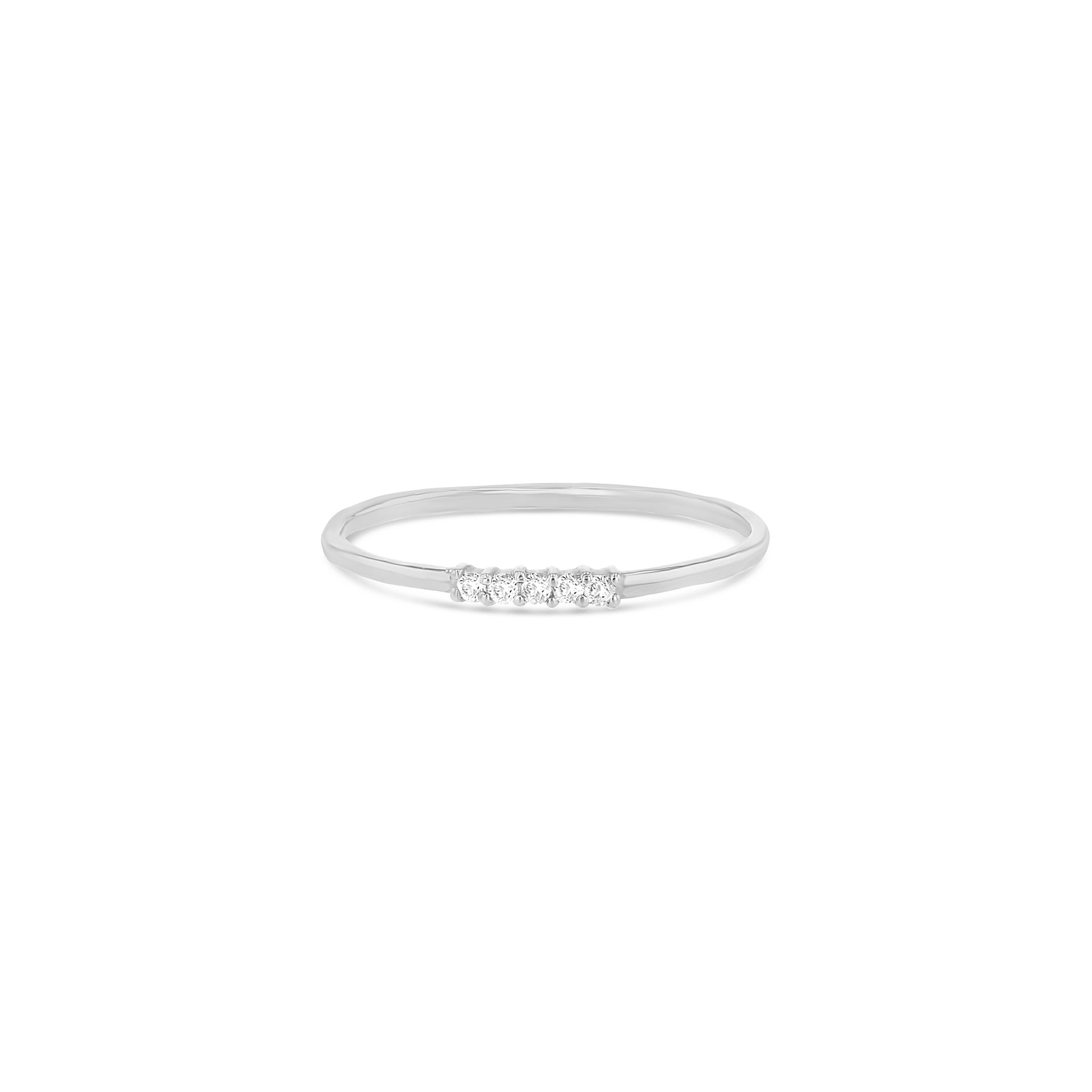 Quintuple Diamond Whisper Ring - RTS