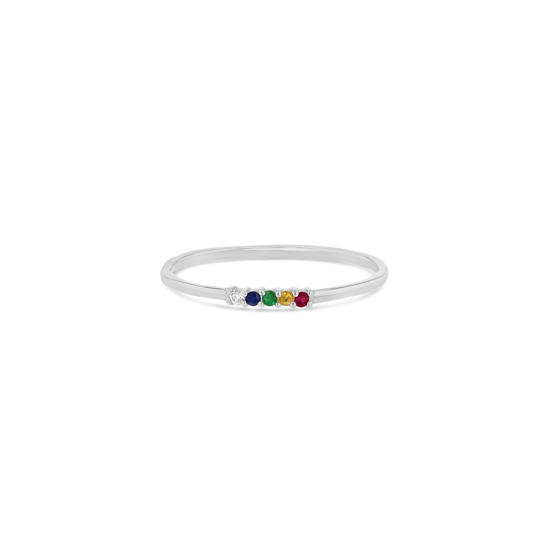 Rainbow Whisper Ring