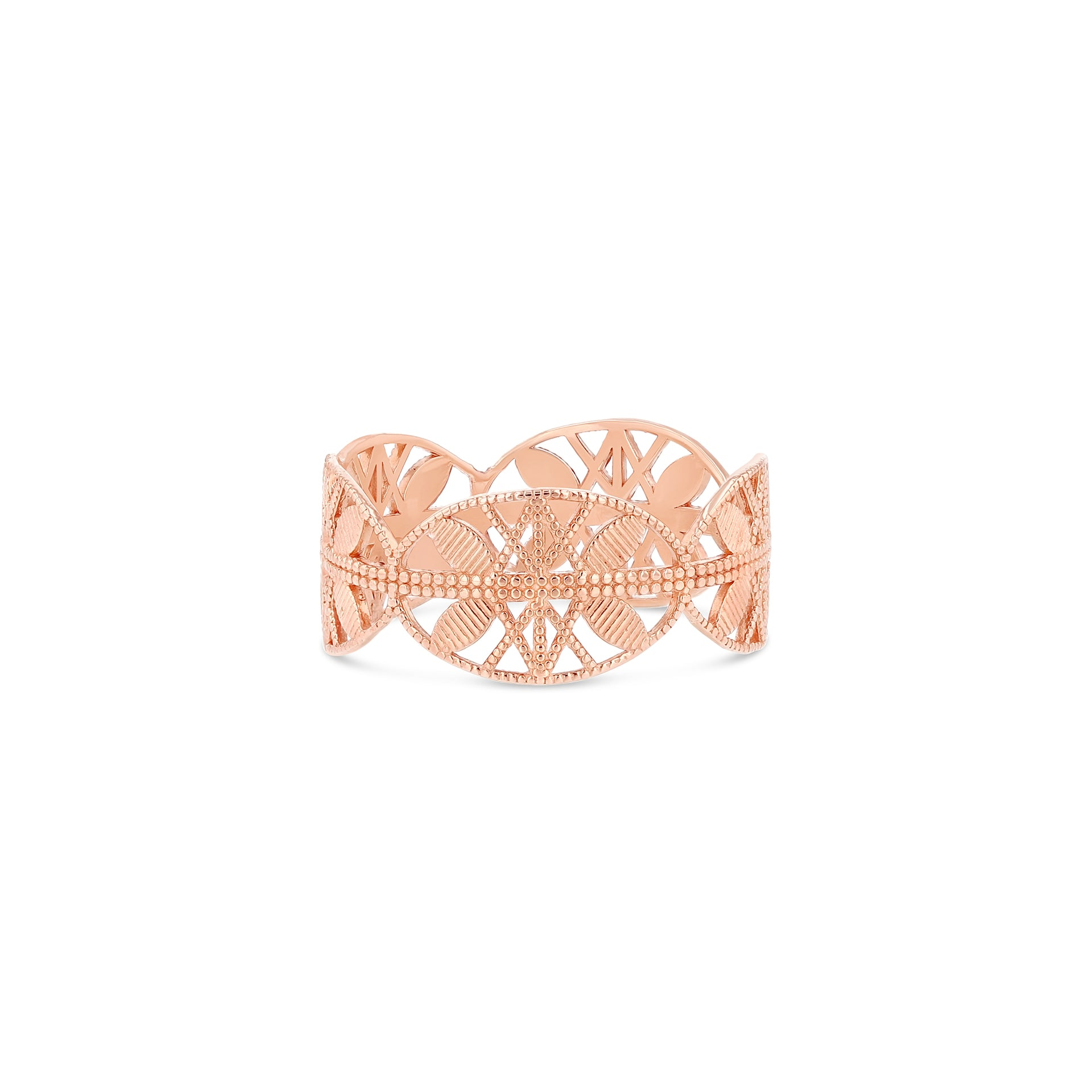 Lace Aztec Ring - RTS