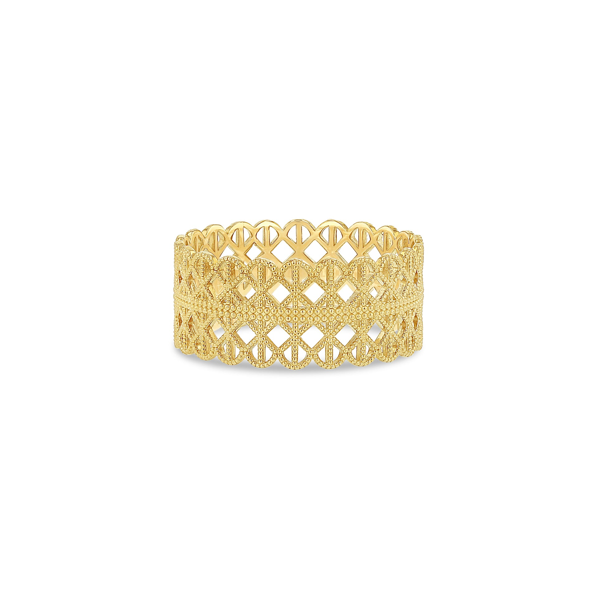 Lace Grid Ring - RTS