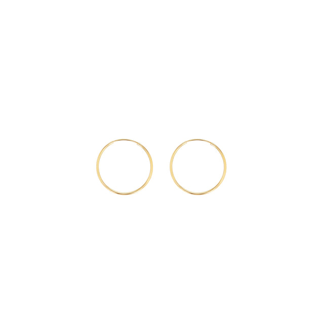 Hoop Earrings - 0.5""