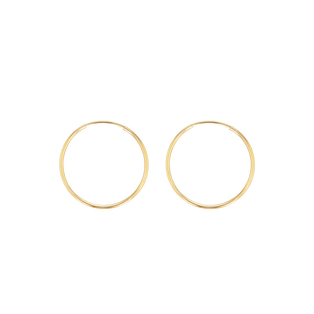 Hoop Earrings - 1.3""