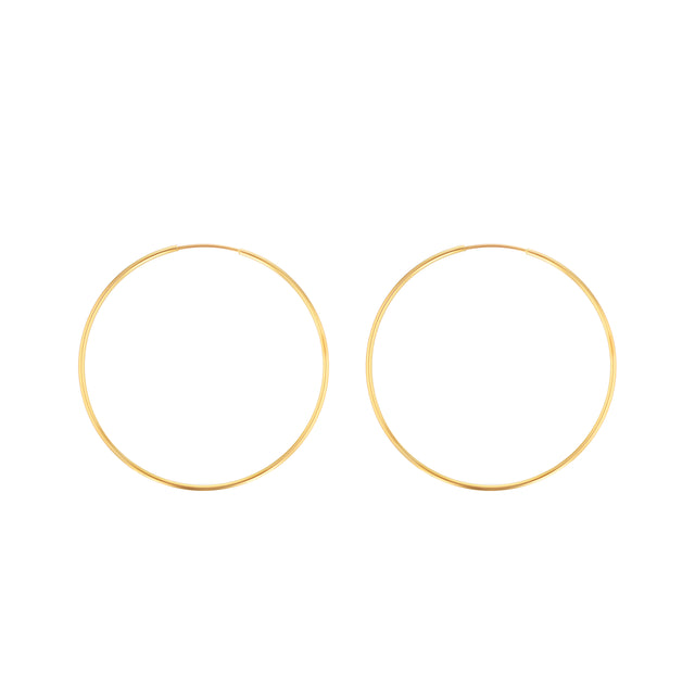 Hoop Earrings - 1.75""
