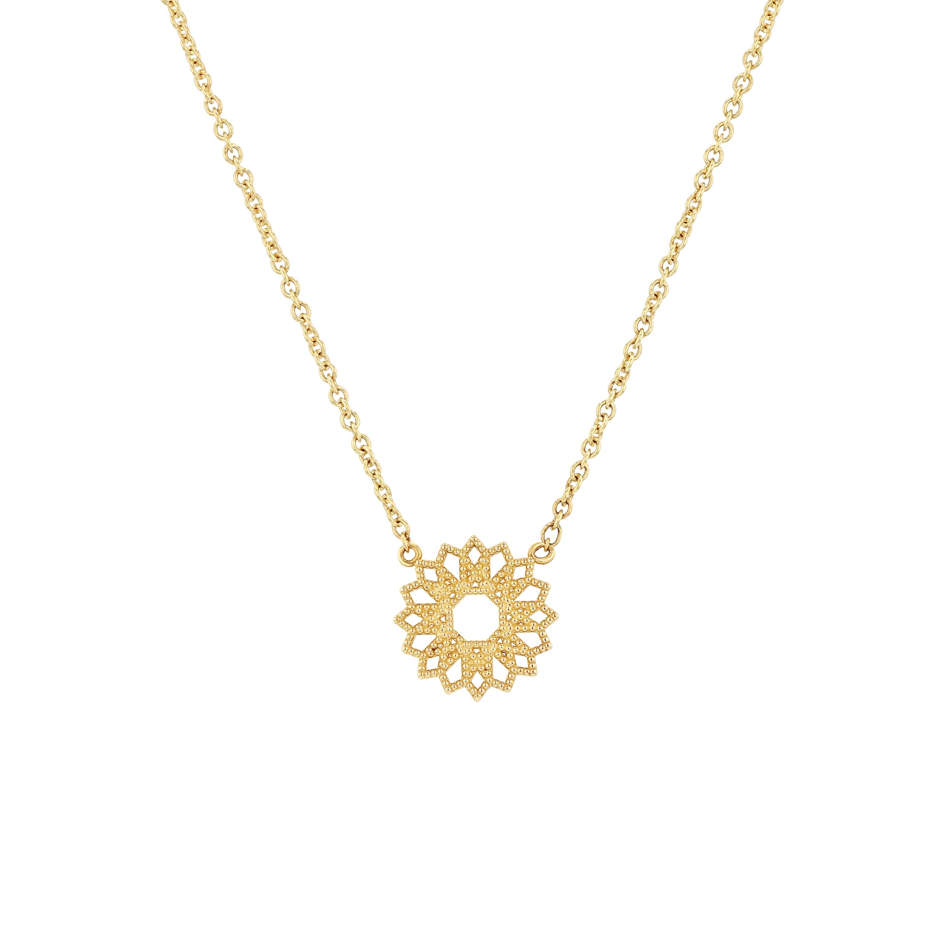 Petite Lace Deco Necklace - VI