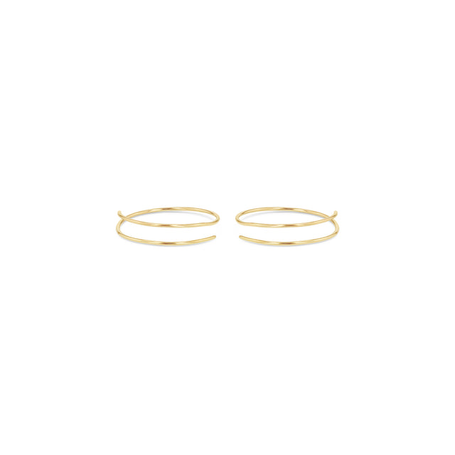 Whisper Hoop Earrings - 1