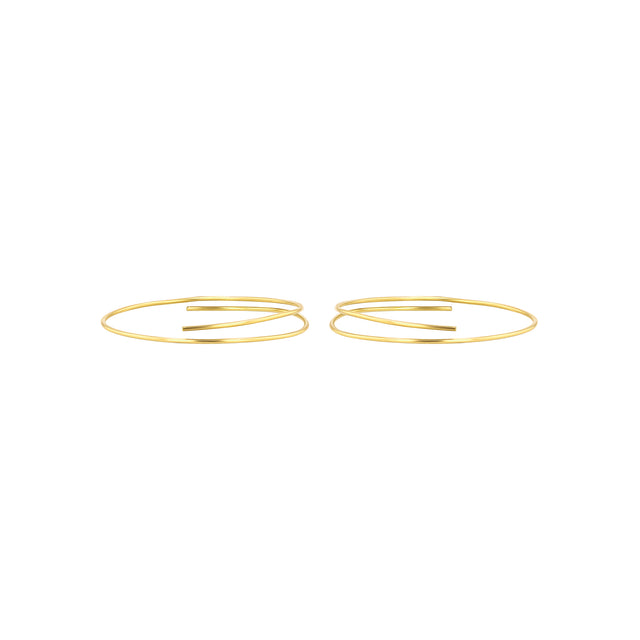 Whisper Hoop Earrings - 3