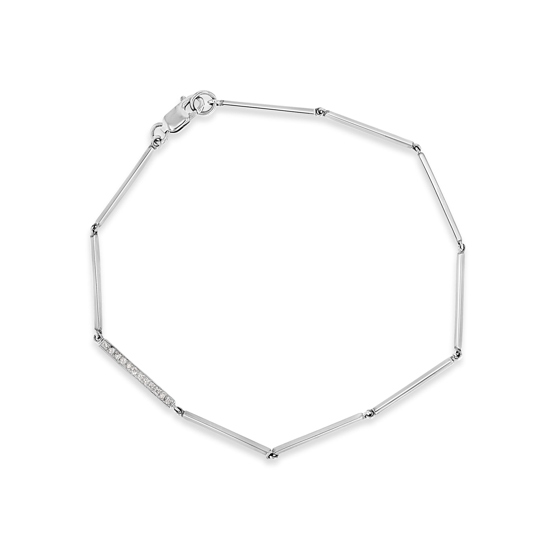 Linear Bracelet w Diamonds - RTS