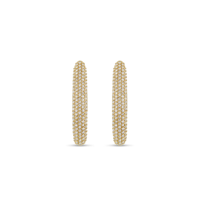 Pavé Demi Demi Earrings