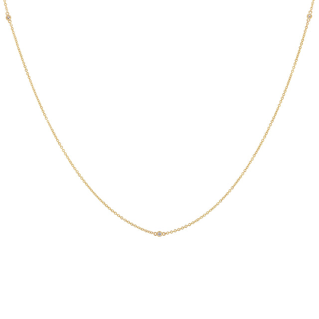 Diamond Dots Necklace - 3