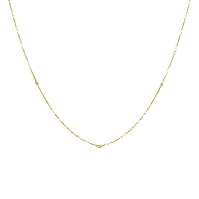 Diamond Dots Necklace - 5
