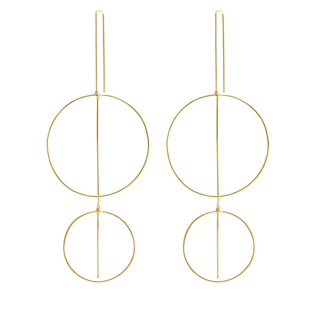 Whisper Mobile Double O Earrings