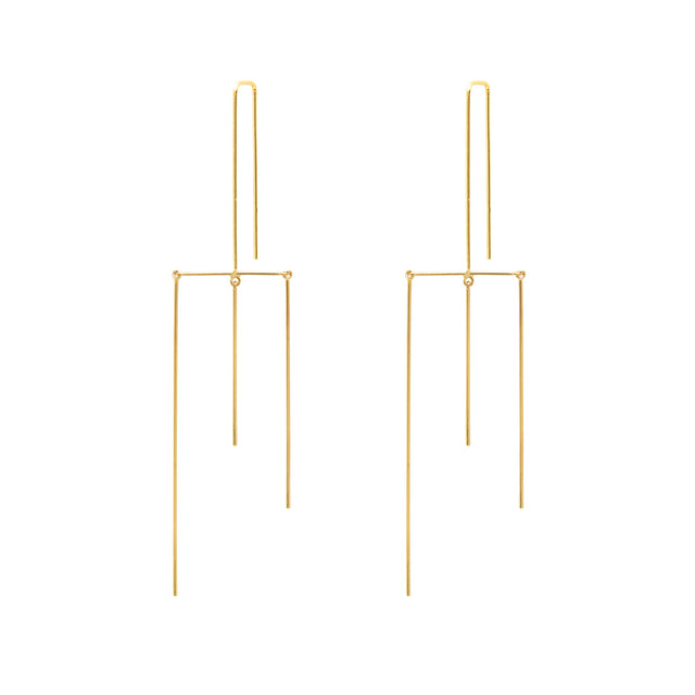 Whisper Mobile Tri-Linear Earrings