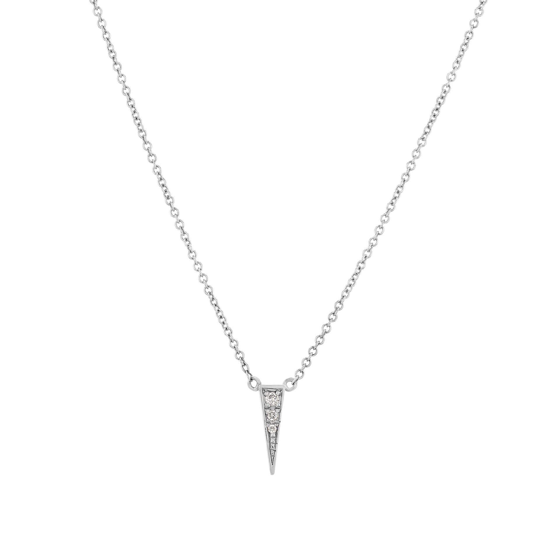 Triangle Flip Necklace