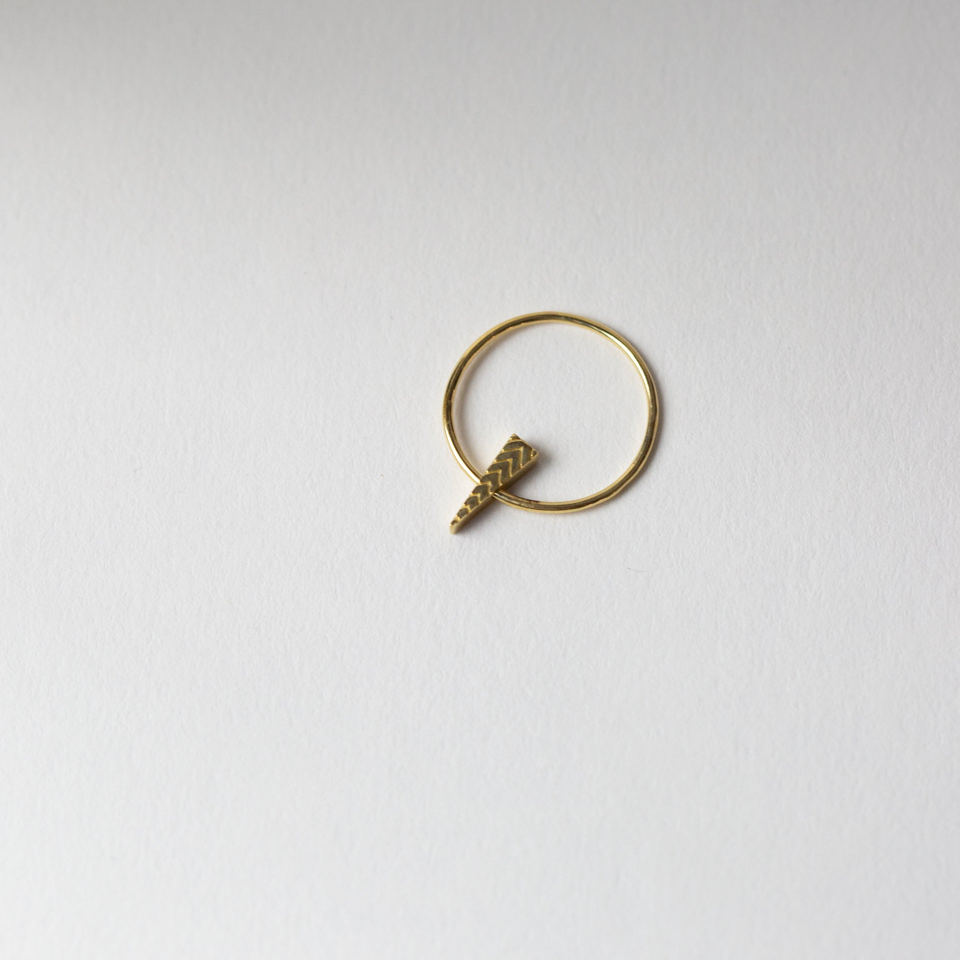 Triangle Flip Ring