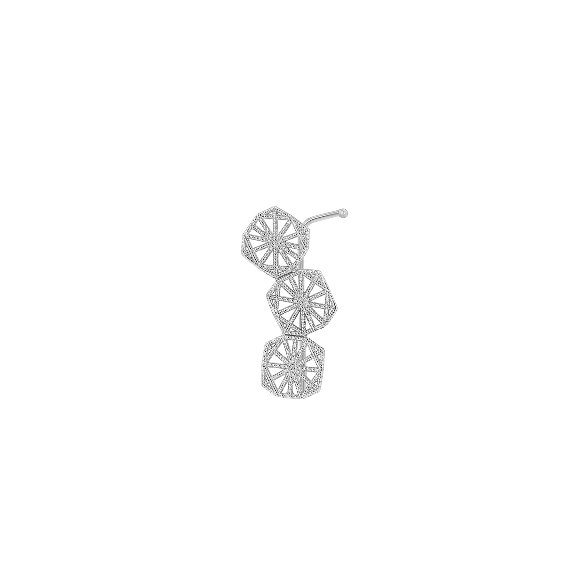 Triple Mini Lace Deco Ear Climber - II