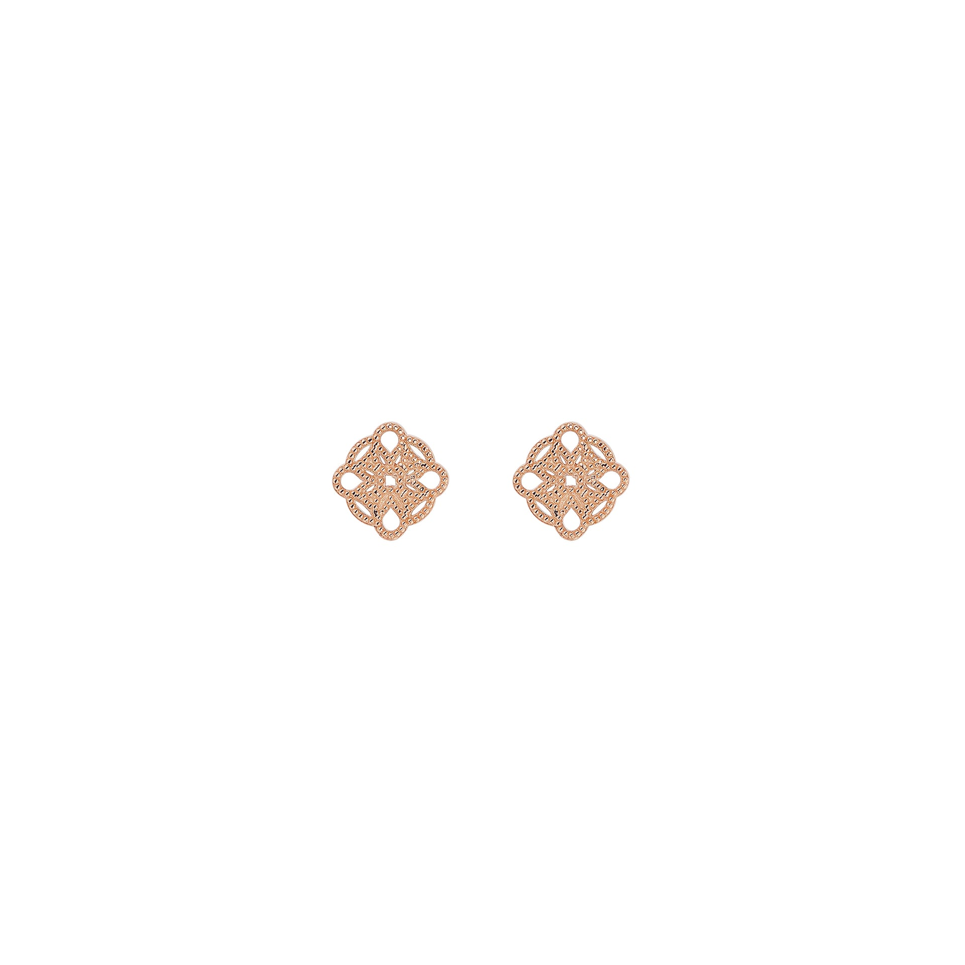Mini Lace Deco Earrings - IV