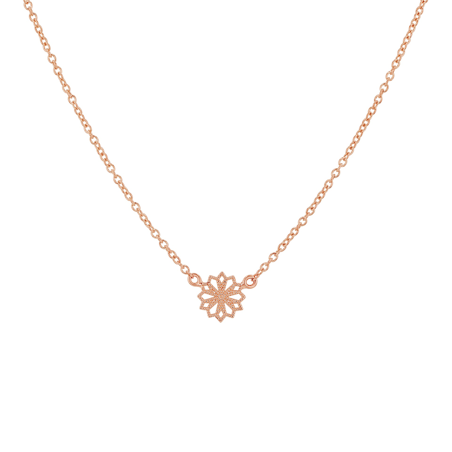 Mini Lace Deco Necklace - VI