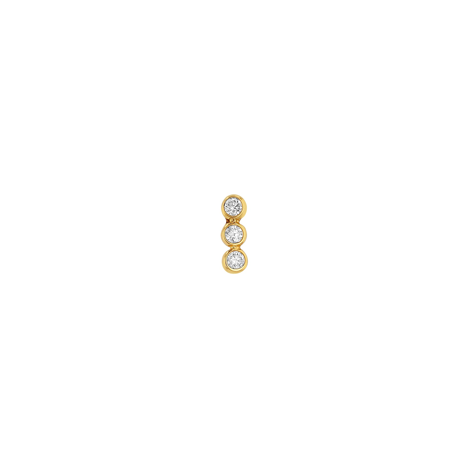 Triple Dot Earring