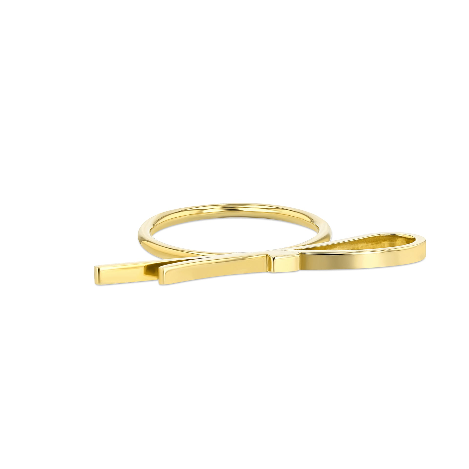 Maman Ribbon Ring