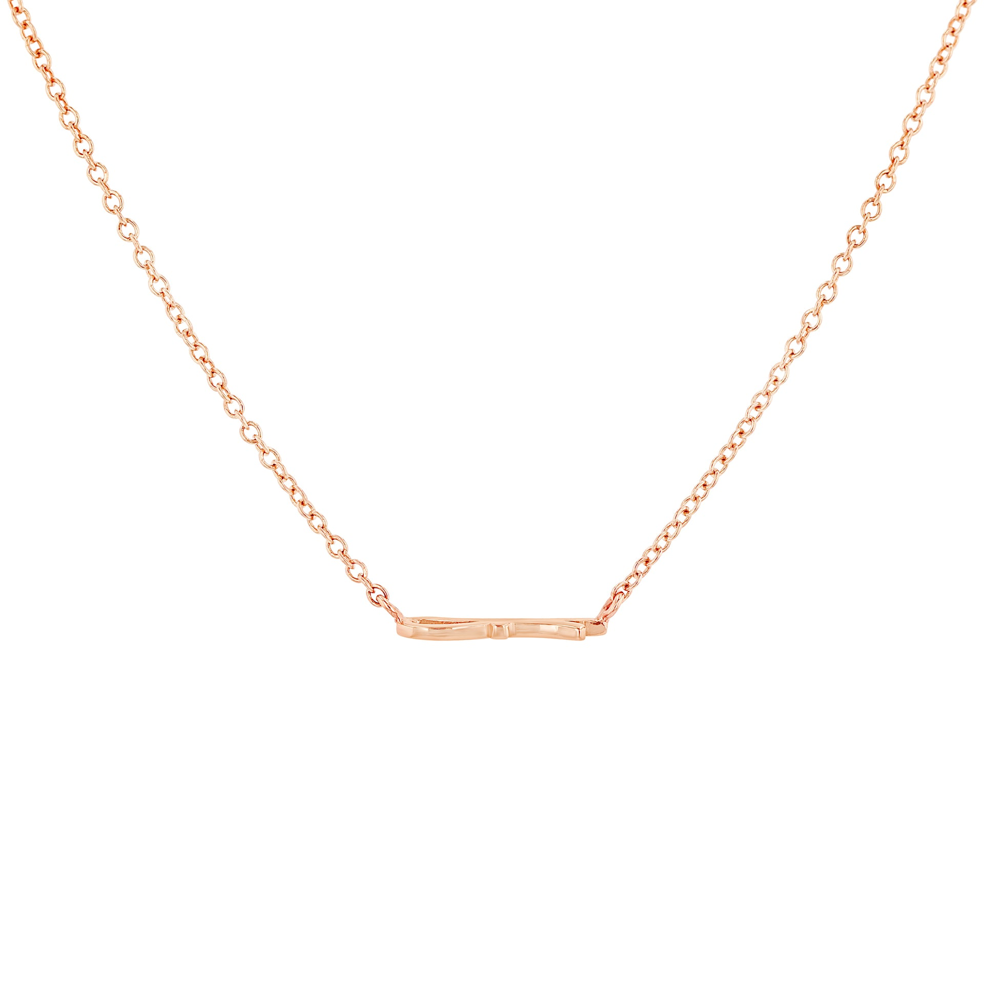 Petite Ribbon Necklace