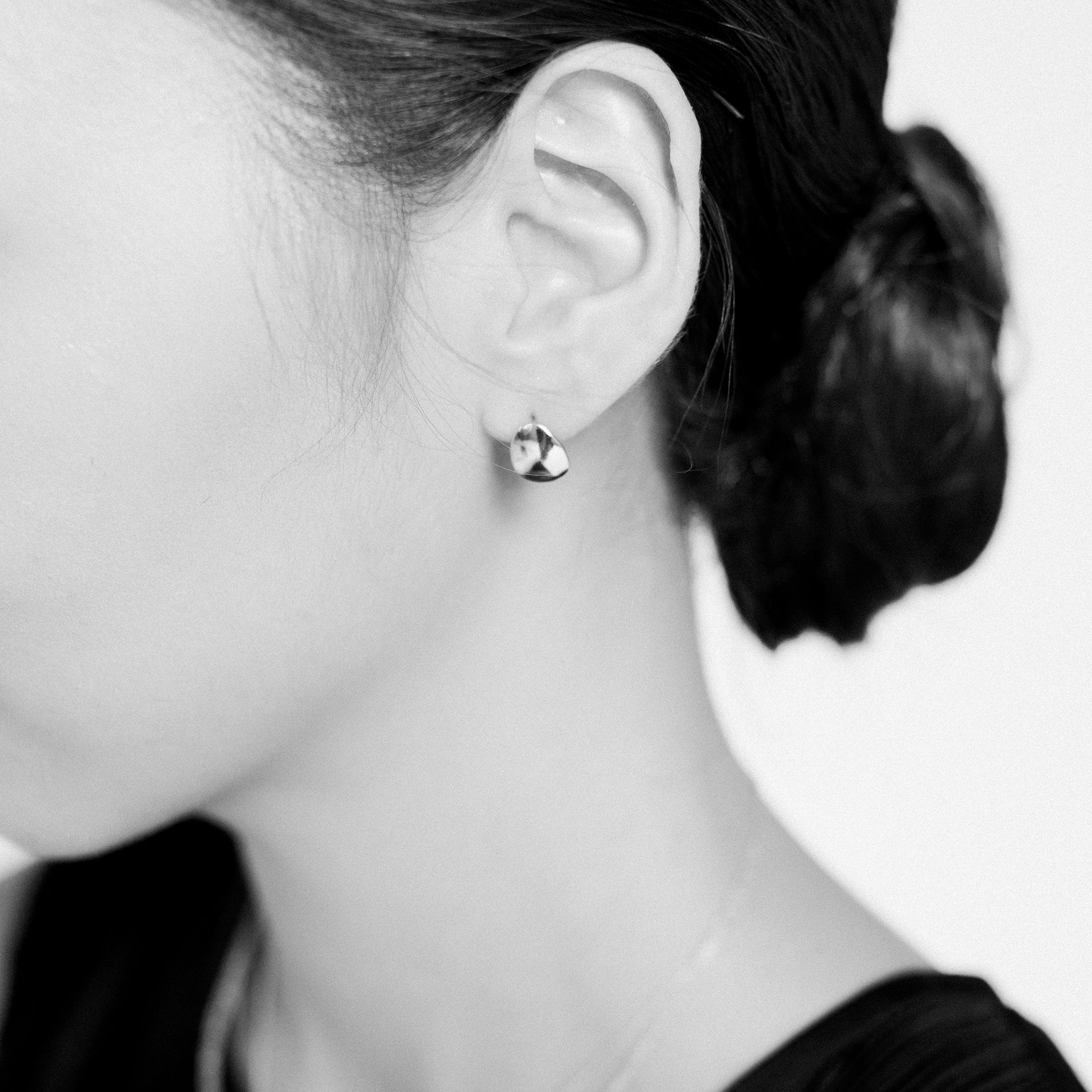 Petite Pod Hook Earrings