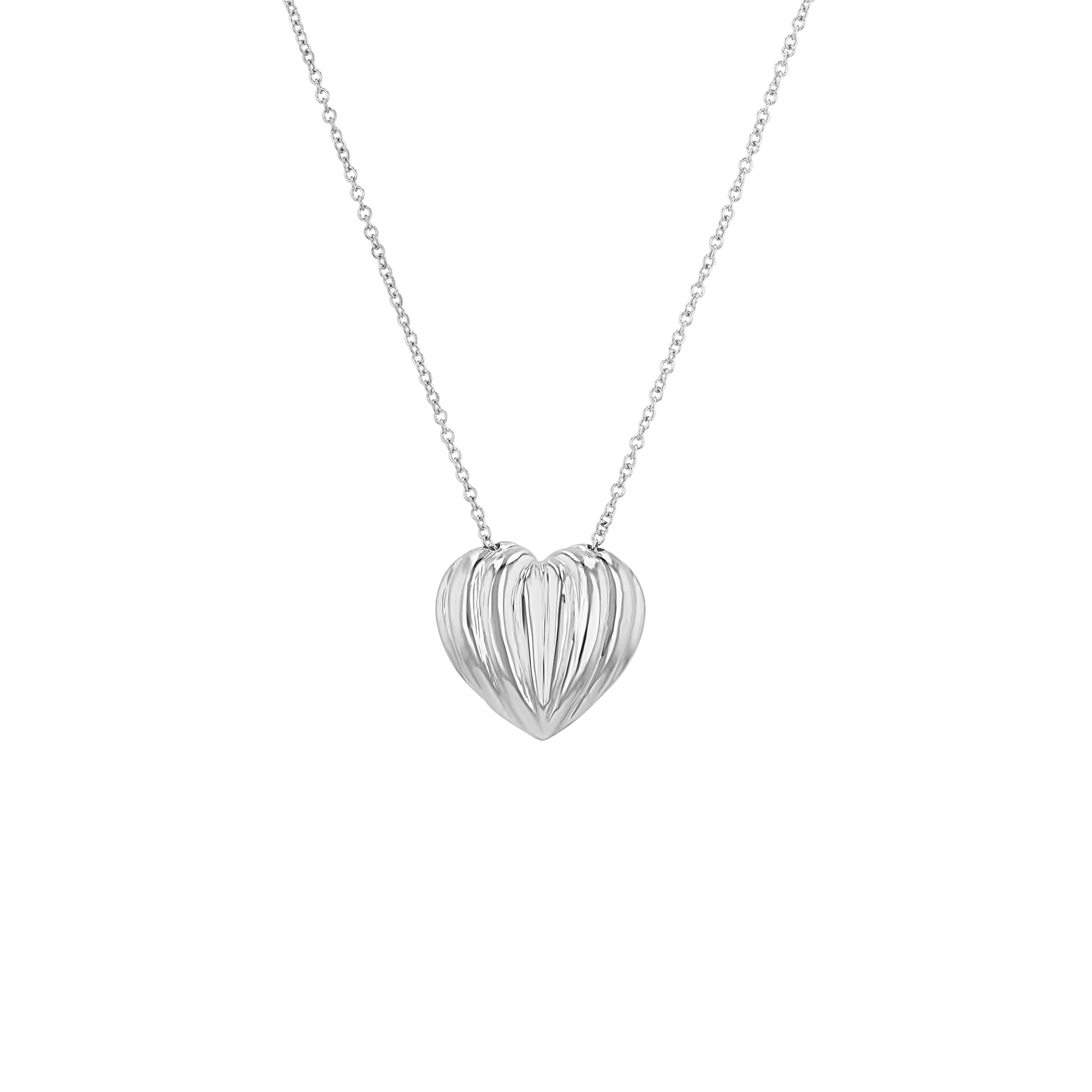 Cora Single-Sided Pendant on Chain