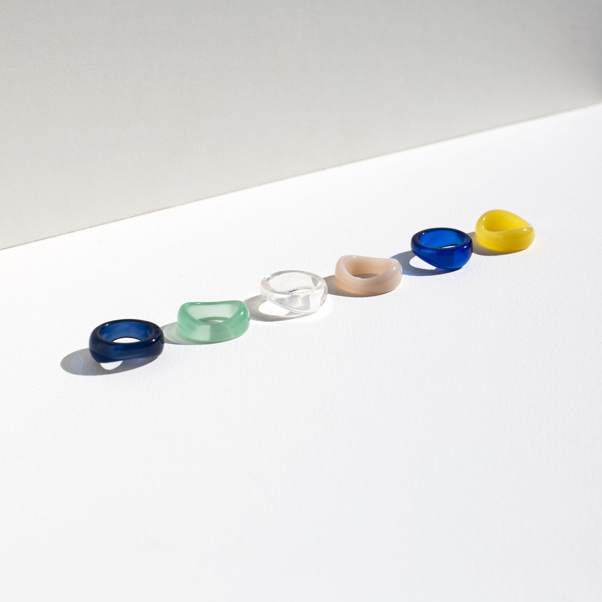 Resin Wave Ring