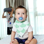 Bandicootz ® Infant Bandana Bibs 6 Pack