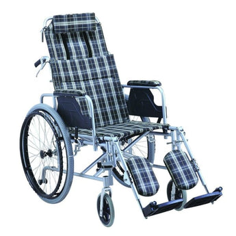 Esco Lightweight Hi-Back Reclining Wheelchair WCH5305LW - Wheelchair - 1